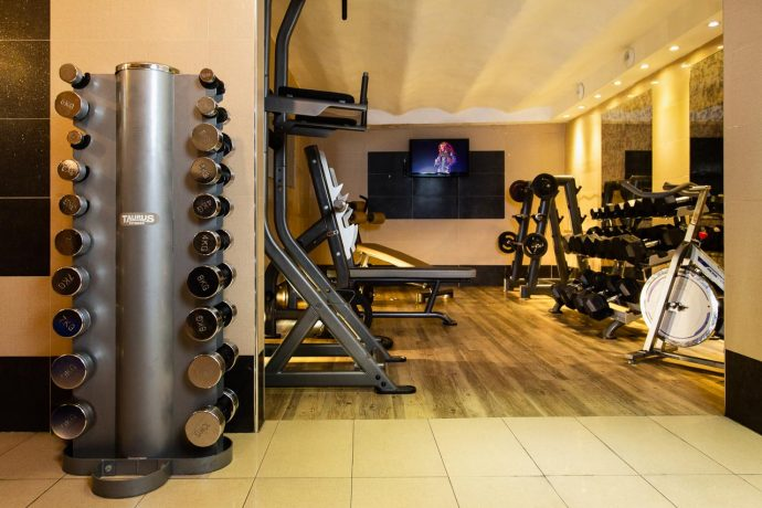 Fully Equipped Gym with Sauna in the city of Nice