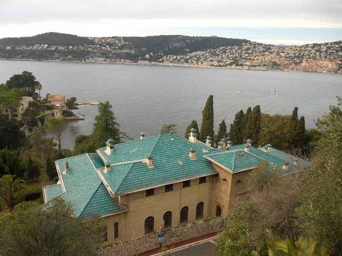 View across to Villefranche