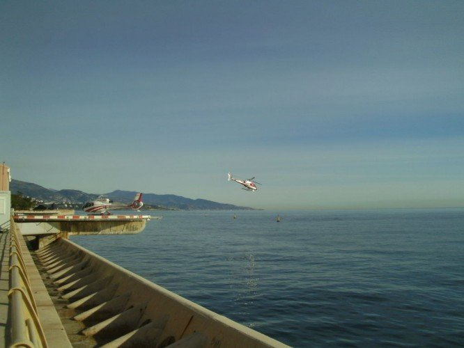 Hellicopter in Monaco