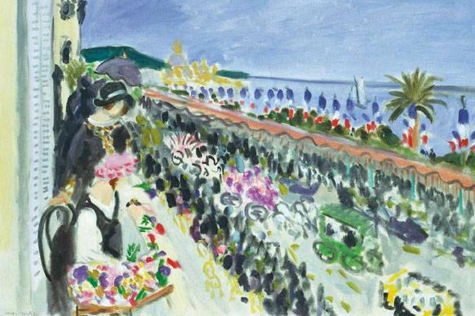 Cote D'azure, the French Riviera by Matisse
