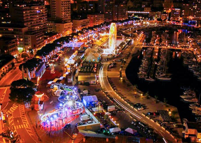 Monaco Christmas Village and Market