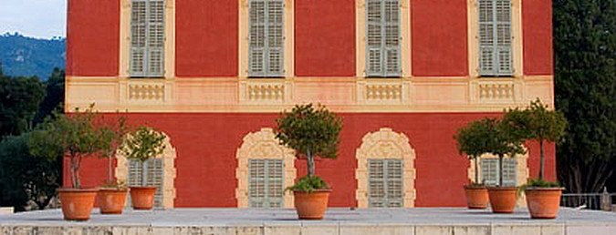 Matisse museum in Nice, France