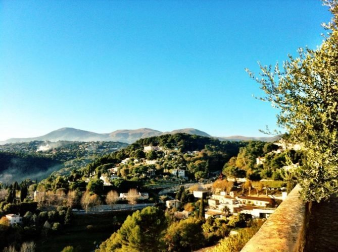 View Saint Paul de vence
