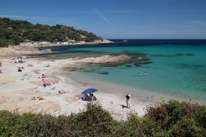 beautiful beach of Escalet