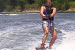 Waterskiing in Nice