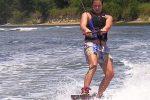 Waterskiing in Nice